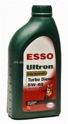 Масло Esso 5W-40 Ultron Turbo Diesel 141890, 1л