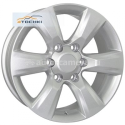 Диск FR replica 7,5x17 6x139,7 ET30 D106,2 TY272 Silver (Toyota)