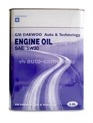 Масло General Motors 5W-30 GM DAEWOO ENGINE OIL 93744588, 4л