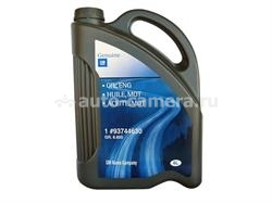 Масло General Motors 5W-30 GM OIL, ENG 93744630, 6л