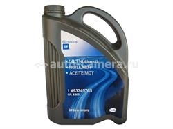 Масло General Motors 5W-30 GM Oil, ENG(DEXOS2) 93745765, 5.6л