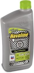 Масло Havoline 0W-20 HAVOLINE SYNTHETIC M/O 223389729, 0.946л