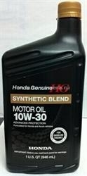 Масло Honda 10W-30 Synthetic Blend 08798-9035, 1л