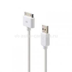 Кабель для iPod и iPhone Belkin ChargeSync Cable, цвет белый (F8Z328EA04WHT)