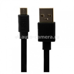Кабель micro-USB для Samsung и HTC JUST Freedom Micro to USB Cable, цвет Black (MCR-FRDM-BLCK)