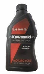 Масло Kawasaki 10W-40 4-Stroke Engine Oil Motocycle K61021-202A, 0.946л