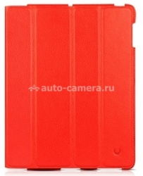 Кожаный чехол для iPad Air BeyzaCases Executive Case, цвет Red (BZ01610)