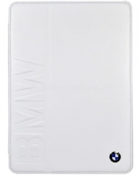 Кожаный чехол для iPad Air BMW Logo Signature, цвет White (BMFCD5LOW)