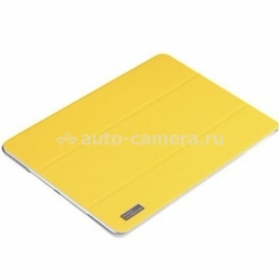 Кожаный чехол для iPad Air Rock Elegant Leather, цвет Yellow (T-iPadA-5038C)