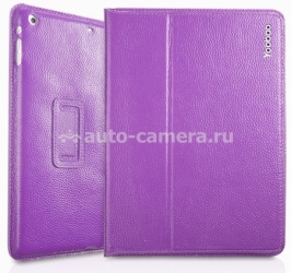 Кожаный чехол для iPad Air Yoobao Executive Leather Case, цвет Purple