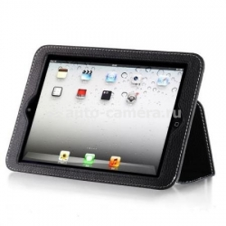 Кожаный чехол для iPad mini Yoobao Executive Leather Case, цвет black