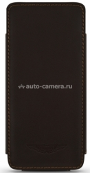 Кожаный чехол для iPhone 5 / 5S BeyzaCases Aston Martin Slim TP, цвет brown (AM23523)