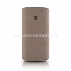 Кожаный чехол для iPhone 5 / 5S Beyzacases Retro Strap Plus, цвет grey (BZ23318)