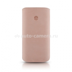 Кожаный чехол для iPhone 5 / 5S Beyzacases Retro Strap Plus, цвет pink (BZ23264)