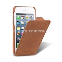 Кожаный чехол для iPhone 5 / 5S Melkco Premium Leather Case - Jacka Type, цвет Classic Vintage Brown