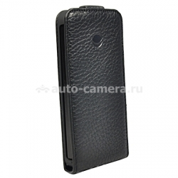 Кожаный чехол для iPhone 6 Beyzacases MF-Series Flip, цвет Sadle Black (BZ05533)