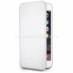 Кожаный чехол для iPhone 6 Plus Twelve South SurfacePad, цвет White (12-1429)
