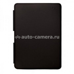 "Кожаный чехол для Macbook Air 11"" Uniq Luxe Ebony, цвет ebony black (MA11TTX-CLQBLK)"