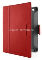 Кожаный чехол для Samsung Galaxy Note GT-N8000 Belkin Cinema Leather Folio, цвет красный (F8M456vfC01)