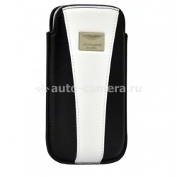 Кожаный чехол для Samsung Galaxy S3 (i9300) Aston Martin Racing chic, цвет blue/white (RACCISAMI9300062D)