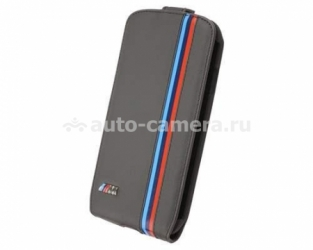 Кожаный чехол для Samsung Galaxy S4 BMW M-Collection Flip, Perforated (BMFLS4MP)