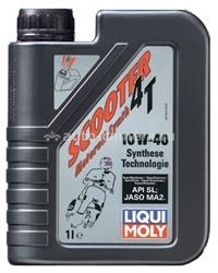 Масло Liqui Moly 10W-40 Scooter Motoroil Synth 4T 7522, 1л