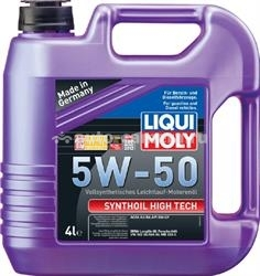Масло Liqui Moly 5W-50 SYNTOIL HIGH TECH 9067, 4л