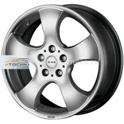 Диск MAK 6,5x15 3x112 ET28 D57,1 STR Fighter Hyper Silver