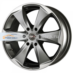 Диск MAK 7,5x17 6x125 ET50 D74,1 Raptor6 Graphite Mirror Face