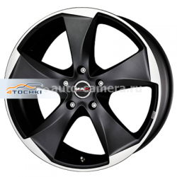 Диск MAK 8,5x20 5x108 ET45 D72 Raptor5 Ice Superdark
