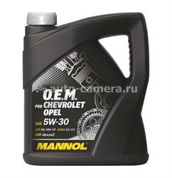 Масло Mannol 5W-30 7701 O.E.M. for Chevrolet Opel 4036021401447, 4л