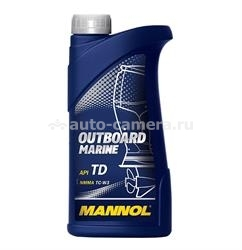 Масло Mannol Outboard Marine, 1л