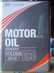 Масло Mazda 0W-20 Golden ECO K004-W0-510E, 4л
