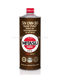 Масло Mitasu 0W-30 GOLD MJ-103-1, 1л