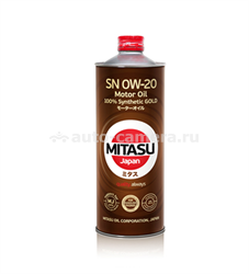 Масло Mitasu 0W-40 GOLD MJ-104-1, 1л