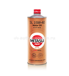Масло Mitasu 15W-40 Motor Oil MJ-133-1, 1л