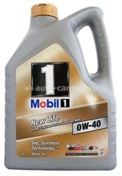 Масло Mobil 0W-40 NEW LIFE, 5л