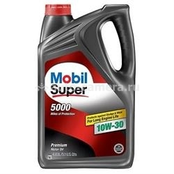 Масло Mobil 10W-30 SUPER 5000, 4.83л