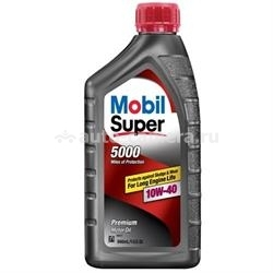 Масло Mobil 10W-40 SUPER 5000, 0.946л