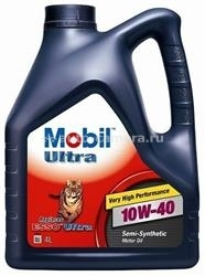 Масло Mobil 10W-40 ULTRA 152197, 4л