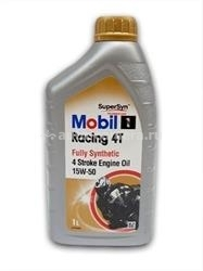 Масло Mobil 15W-50 RACING 4T 142089, 1л