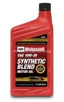Масло Motorcraft 10W-30 Premium Synthetic Blend XO-10W30-DSP, 250л