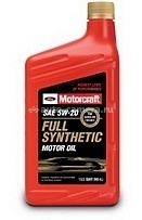 Масло Motorcraft 5W-20 Full Synthetic Motor Oil XO    5W20-QFS, 1л