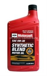 Масло Motorcraft 5W-30 Synthetic Blend Motor Oil XO5W30QSP, 1л
