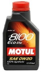 Масло Motul 0W-30 8100 Eco-clean 102888, 1л