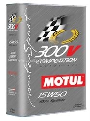 Масло Motul 15W-50 300 V COMPETITION 101202, 2л