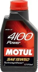Масло Motul 15W-50 4100 POWER 102773, 1л