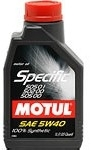 Масло Motul 5W-40 Specific VW502.00-505.00-505.01 101573, 1л