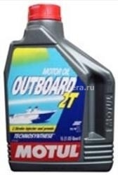 Масло Motul OUTBOARD 2 T 101732, 2л