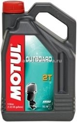 Масло Motul OUTBOARD 2 T 101734, 5л